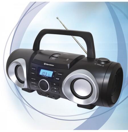 Grotuvas CD/MP3USB su radija Roadstar CDR-265U-BK