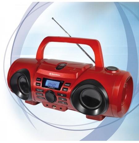 Grotuvas CD/MP3USB su radija Roadstar CDR-265U-RD