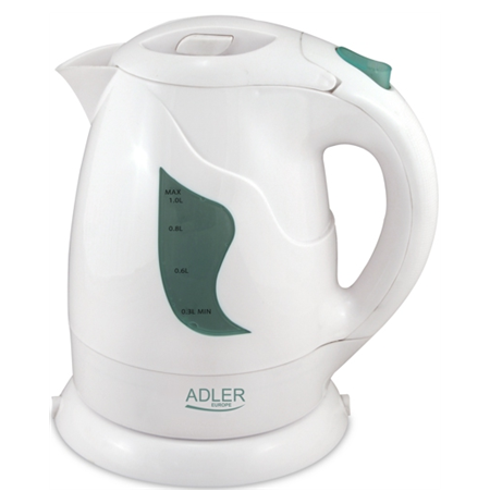 Adler AD 08 Cordless Water Kettle, White