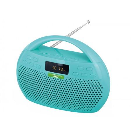 Skaitmen radija TREVI KB308 BT,MP3,bluet,usb(mėl.)
