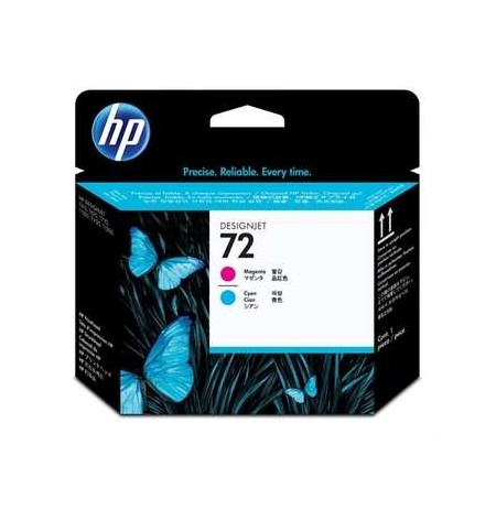 HP 72 Printhead magenta and cyan Vivera