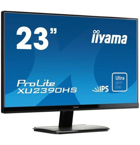 Monitorius Iiyama LCD 23'' Prolite XU2390HS-B1, IPS LED, Full HD, DVI, HDMI