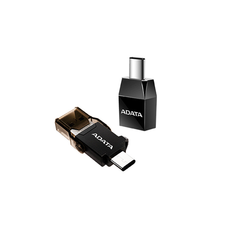 ADATA USB-C to 3.1 A Adapter Plastic, Black
