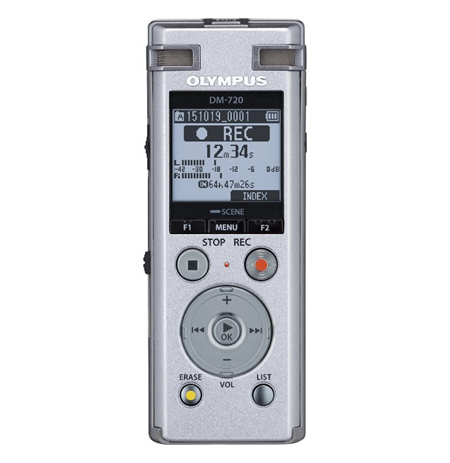Olympus Digital Voice Recorder DM-720 Rechargeable