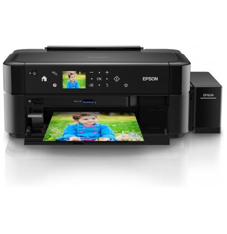 Epson L810 Colour, Inkjet, Printer, A4, Black