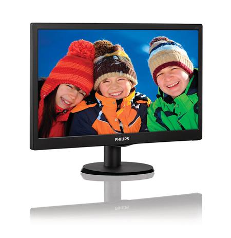 """Philips 203V5LSB26/10 19.5 """", HD ready, 1600 x 900 pixels, 16:9, LED, 5 ms, 200 cd/m², Black"""