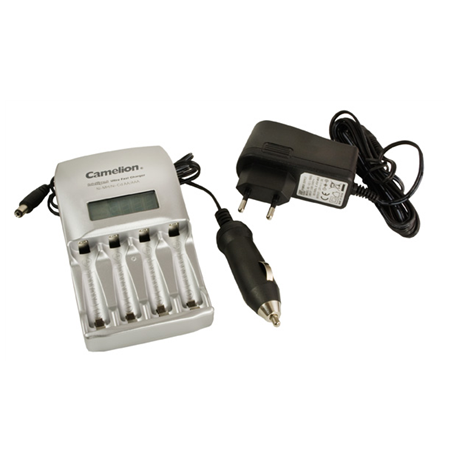 Camelion Ultra Fast Battery Charger BC-0907 1-4 AA/AAA Ni-MH Batteries, Pulse Charging Technology