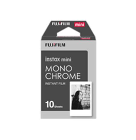 Fujifilm Instax Mini Monochrome (10pl) Instant Film Quantity 10, 54 x 86 mm