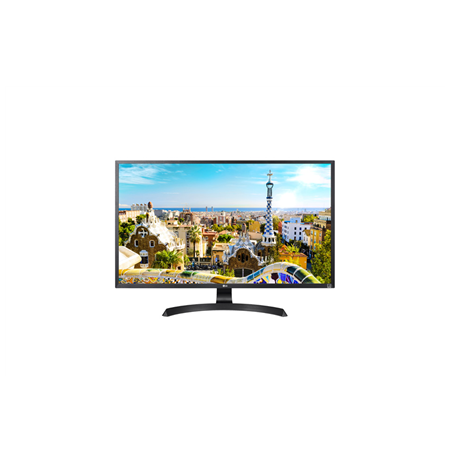 "LG 32UD59-B.AEU 32 "", UHD, 3840 x 2160 pixels, 16:9, LED, VA, 5 ms, 300 cd/m², Black, Power, HDMI"