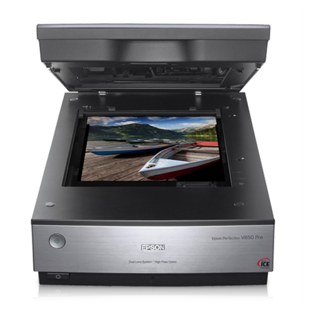 Epson Perfection V850 Pro Photo scanner / Dual Lens System / 4800dpi & 9600 dpi / Color: 48-bit / 4.0 Dmax / USB 2.0