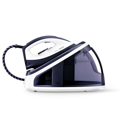 Philips GC7710 Blue, White, 2400 W, 2.2 L, 5.5 bar, Auto power off, Vertical steam function, Calc-clean function