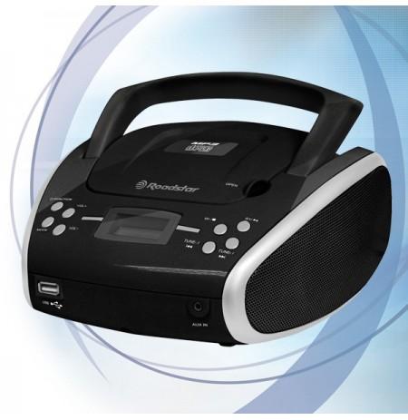 Nešiojama radija.su CDUSB(MP3)RoadstarCDR-4552U/SL