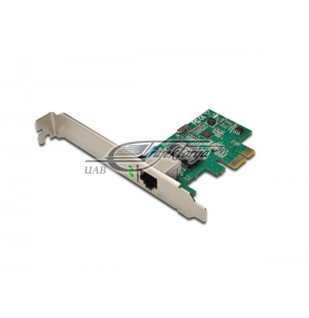 DIGITUS NETWORK CARD PCIE DN-10130,PCI EXPRESS