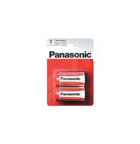 Galv. elem. Panasonic RED Zinc R14-2BP