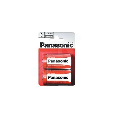 Galv.elem. Panasonic Zinc R20-2BP
