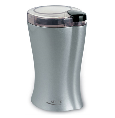 Adler AD 443 Coffee grinder, Capacity 70g, Power 150W, Inox