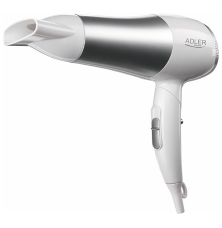 Adler AD 2225 Hair dryer, 2200W, 2 speed settings, Concentrator