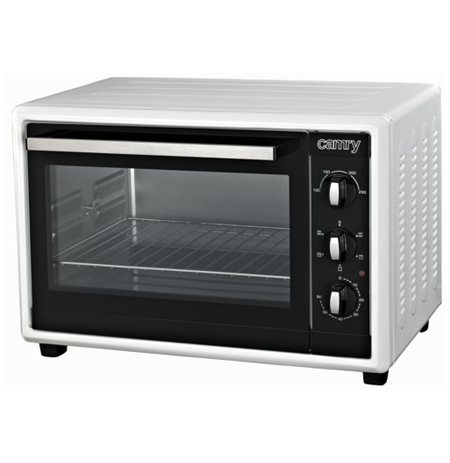 Camry CR 6007 Electric oven, Capactity 42L, Power 1800W, 2 heating modes, Timer, White